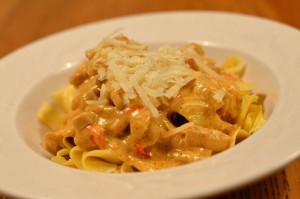 Kycklinggryta med pasta 2