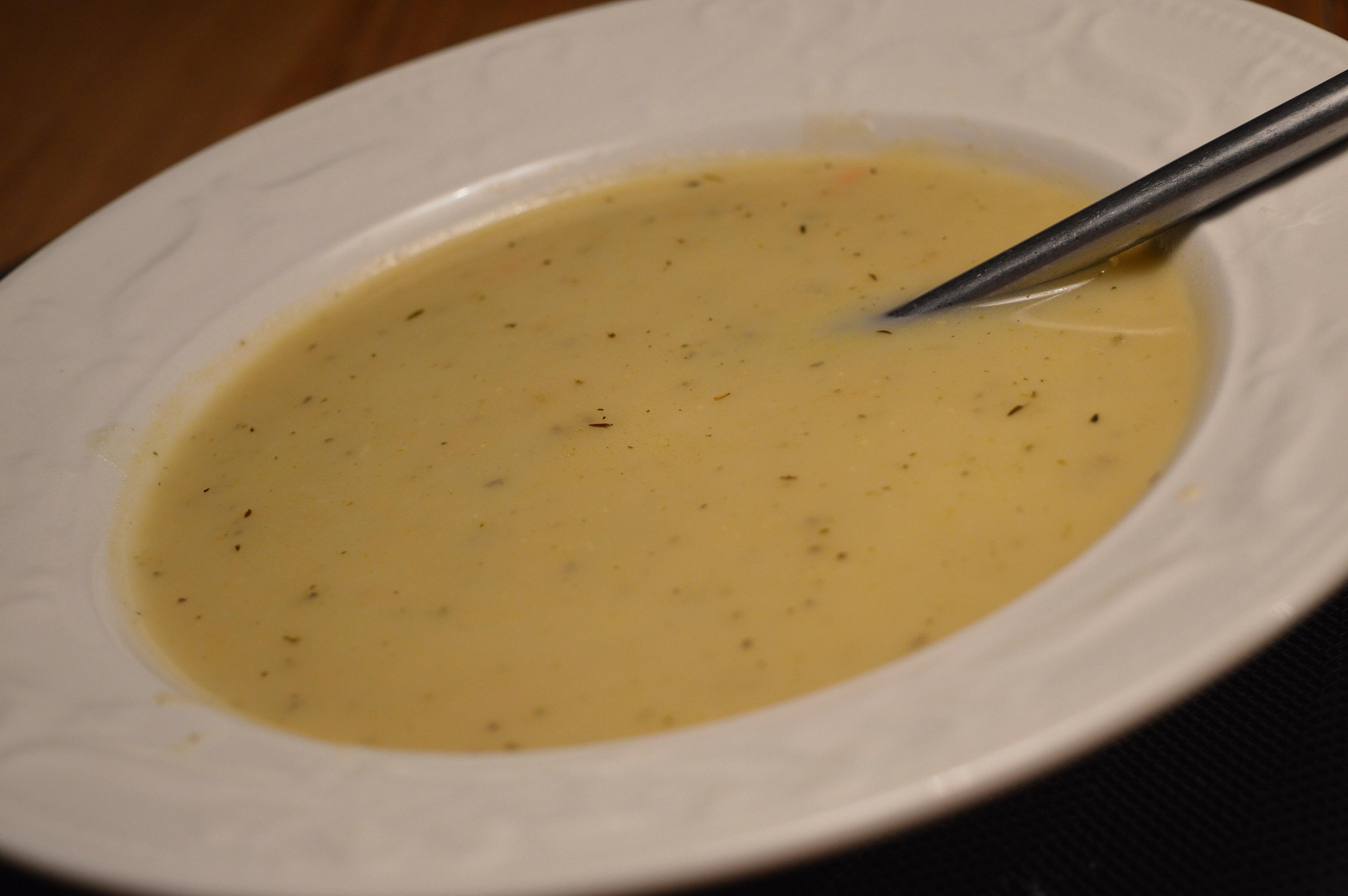 potatis lök soppa