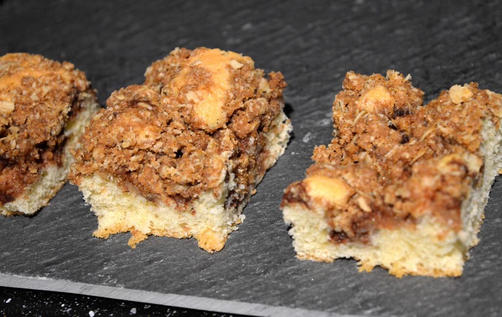 Äppelkaka med crunch 2