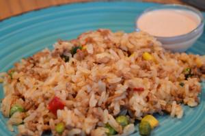 Ris och köttfärsrisotto