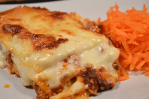 Krämig lasagne 3
