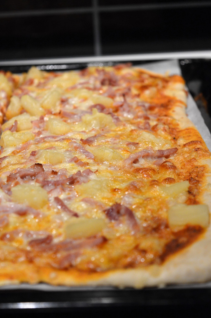 Pizza med bakpulver 2