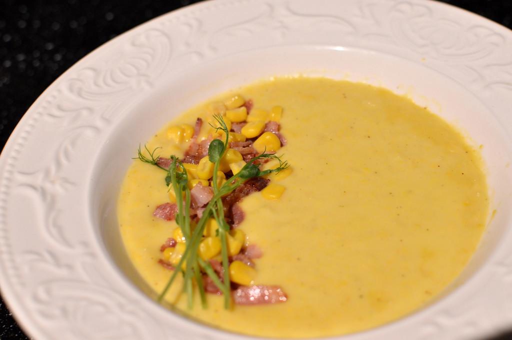 Majs- & potatissoppa