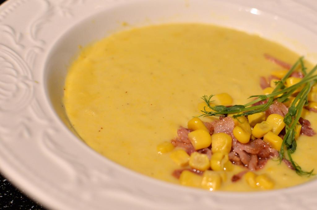 Majs- & potatissoppa 3