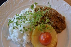 Köttfärsgratäng med ananas 4